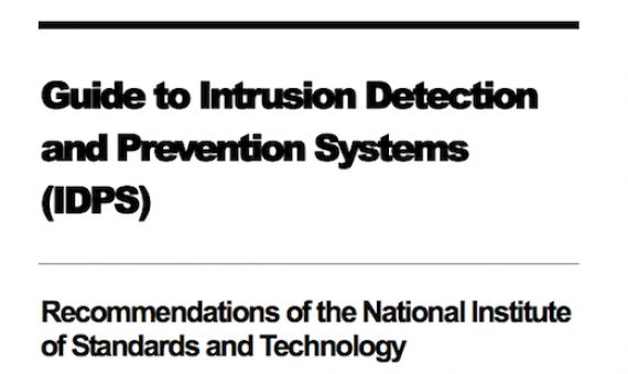 Guide to Intrusion Detection Prevention System
