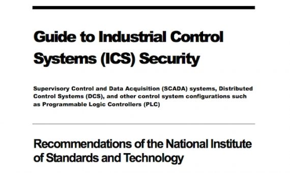 Industrial Control System Security Guidelines
