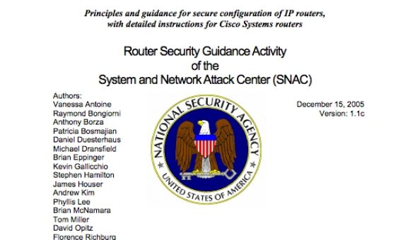 Cisco Router Secure Configuration Guidelines