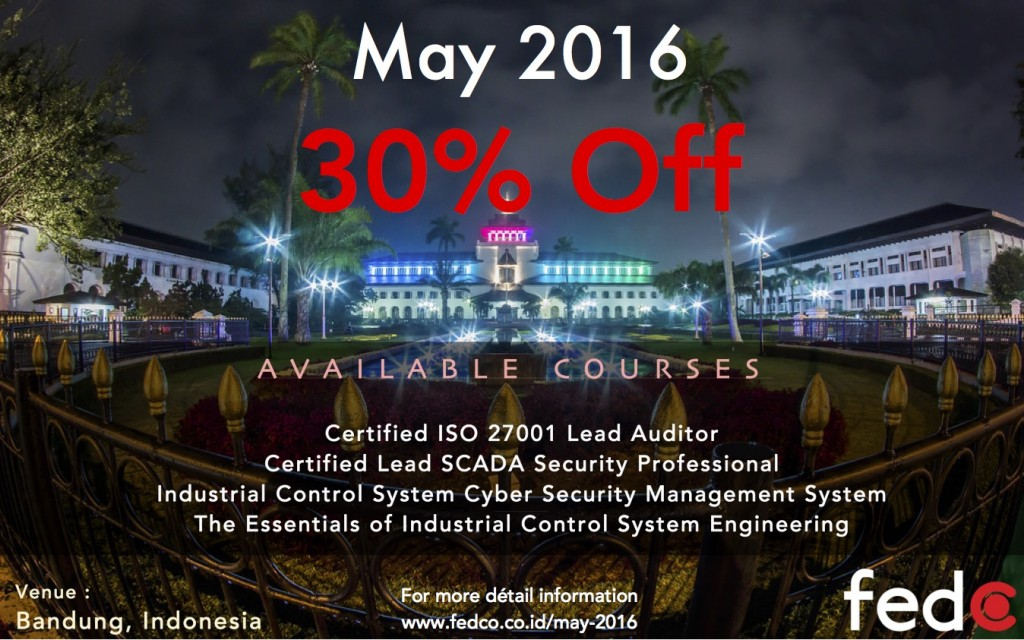 May 2016 30% Discount
