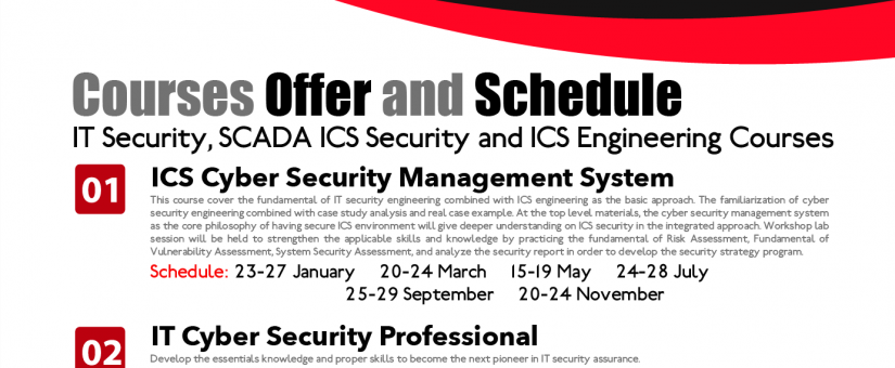 ICS Security Training – March 2018